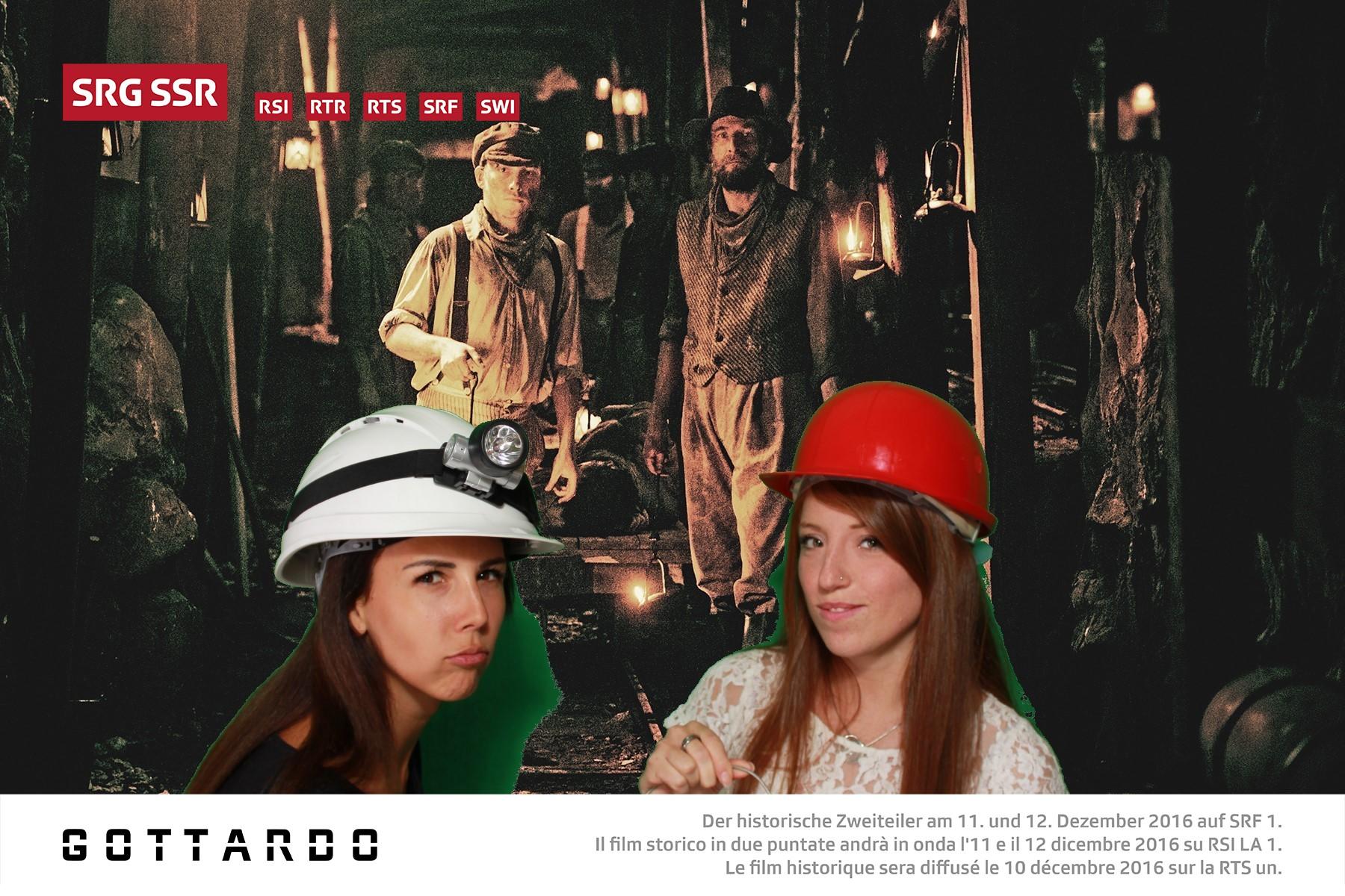 Gottardo - Der historische Zweiteiler am 11. und 12. Dezember 2016 auf SRF 1. Il film storico in due puntate andrà in onda l'11 e il 12 dicembre 2016 su RSI LA 1. Le film historique sera diffusé le 10 décembre 2016 sur la RTS un. Foto: